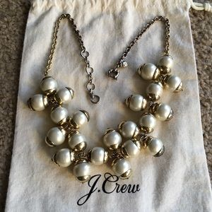 J.Crew pearl bauble necklace